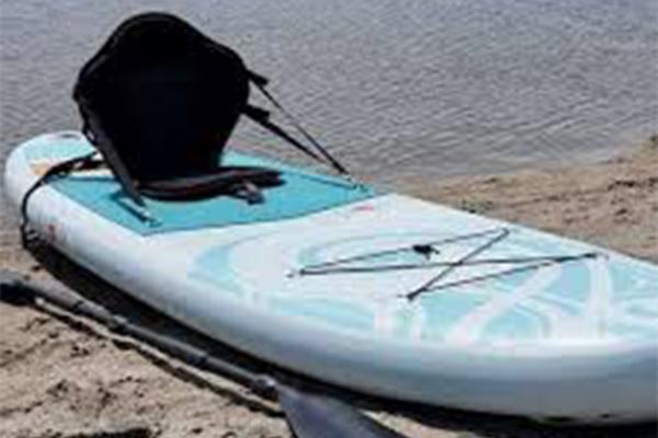 Kajak peddel voor SUP board