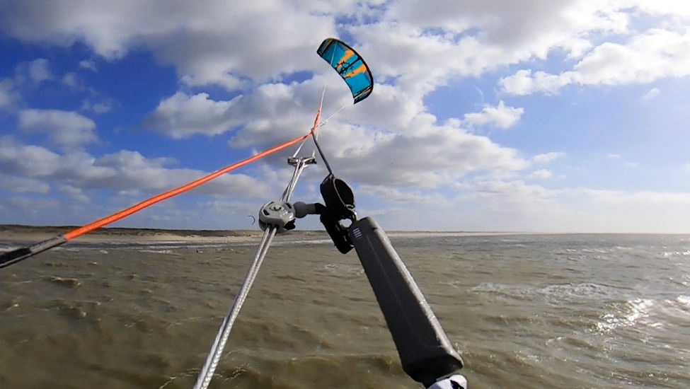 Kitesurfles noord holland