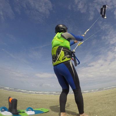 kitesurf lessen introductieles proefles