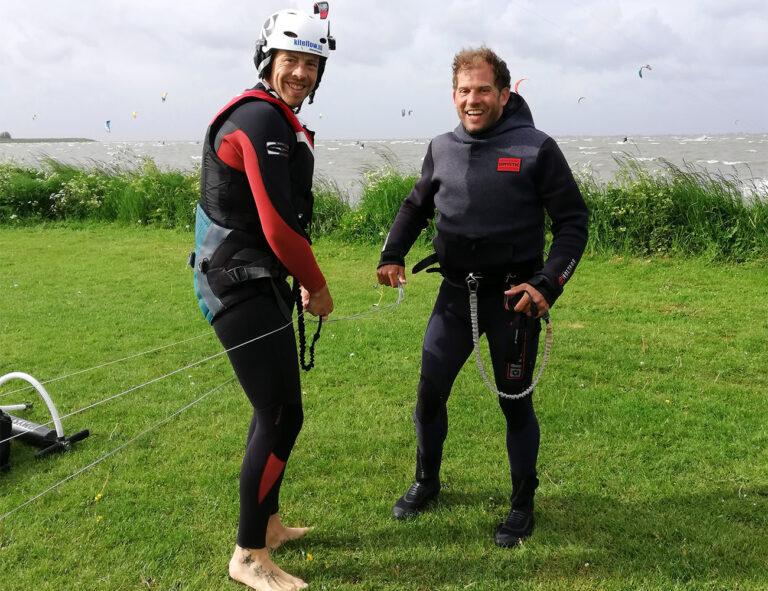 kitesurf lessen opfris