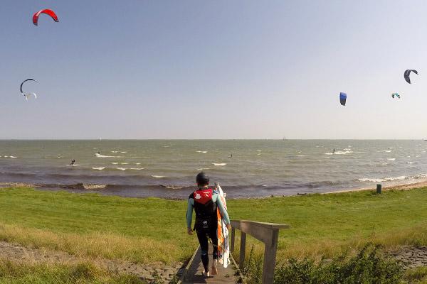 kitesurfles-edam-locatie