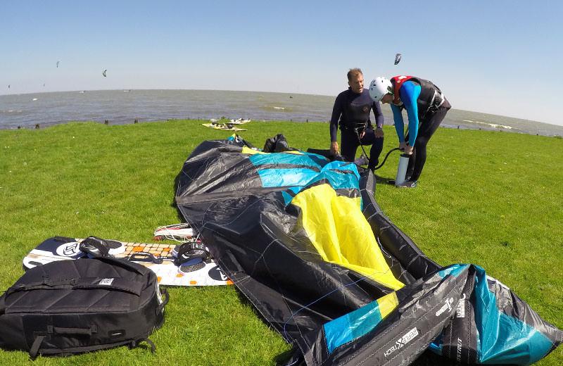 kitesurf lessen introductie