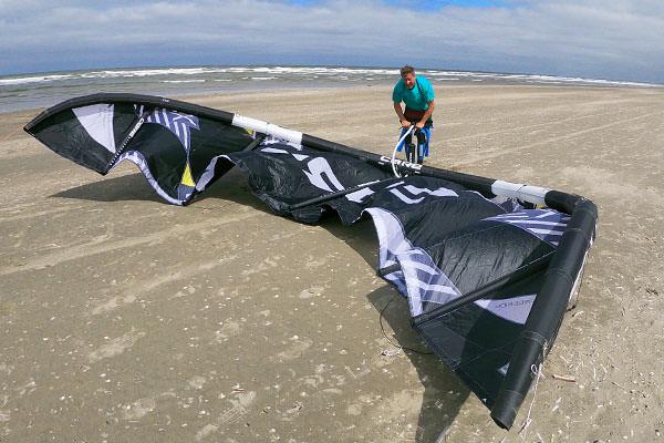 kitesurfles locatie wijk aan zee