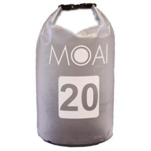 moai dry bag 20l grijs