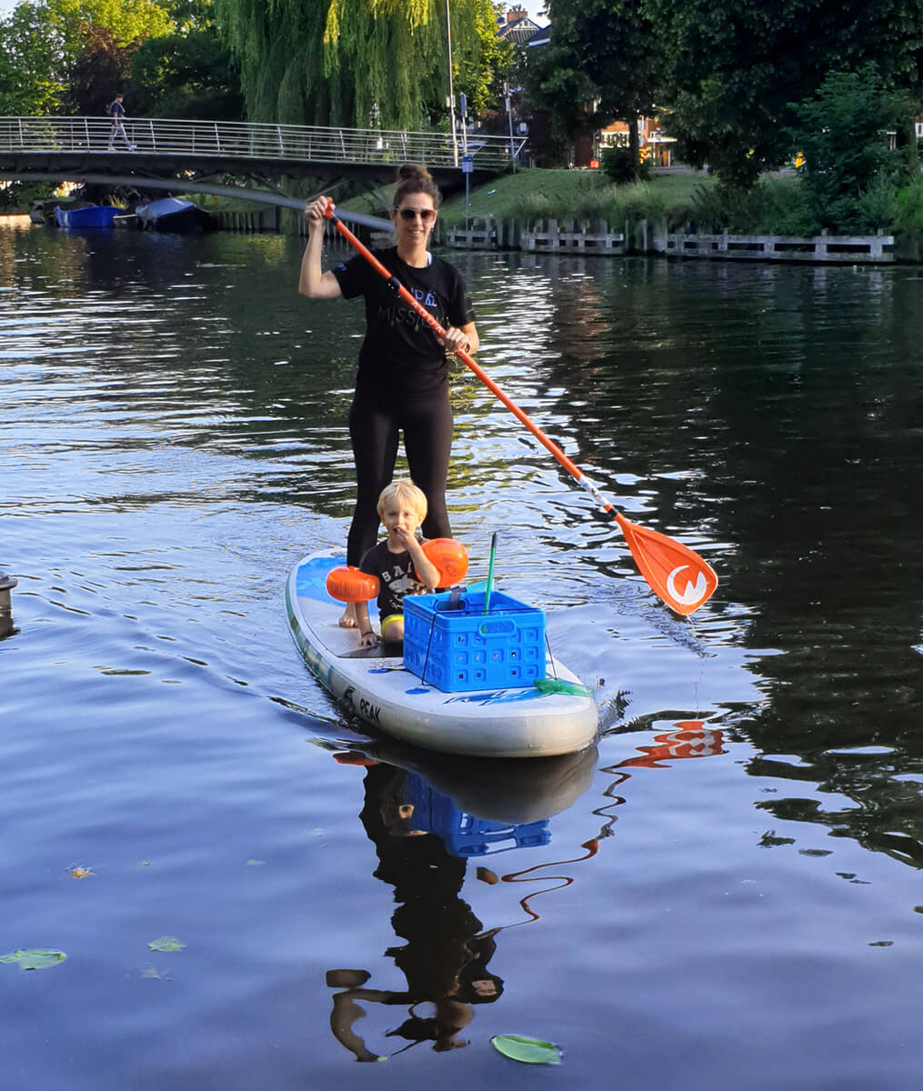 supmission sup clean up haarlem